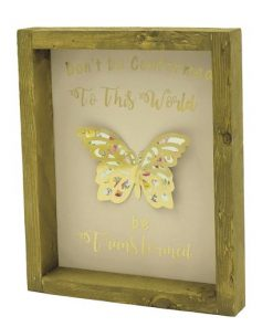 be transformed handcrafted butterfly picture