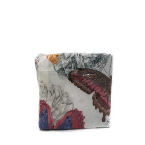 earthen butterfly pillow cover