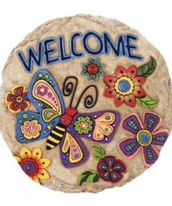 welcome butterfly stepping stone