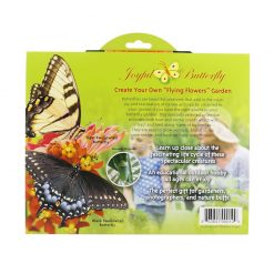 Butterfly Garden Seed Set Back of Packet