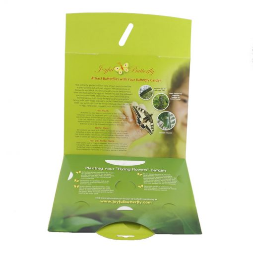 Butterfly Garden Seed Packet inside information