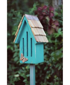 Teal Butterfly house by heartwood - butterfly breeze